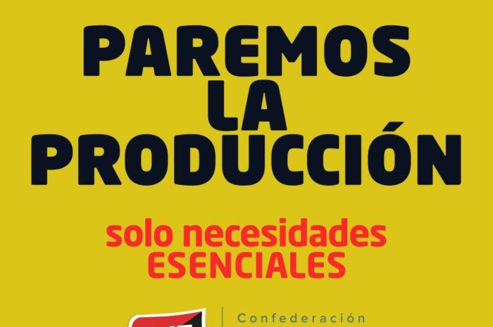 CNT exige al Gobierno que tome medidas de protección y soporte para las trabajadoras y los trabajadores